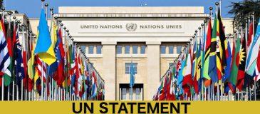 UN-STATEMENT