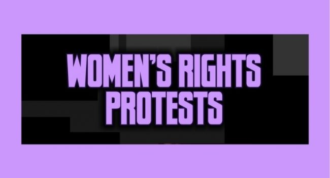 WOMEN RIGHTS PROTEST
